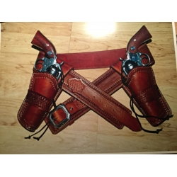 Holster Leather Set w/belt